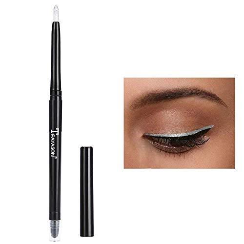Fard À Paupières Crayon À Paupières Surligneur Crayon Paillettes Étanche Outil De Maquillage Pour Les Yeux(argent)