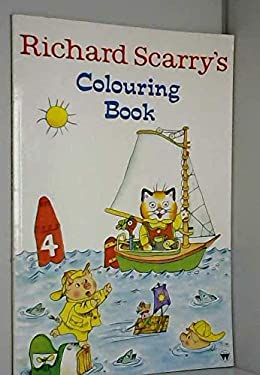 Richard Scarry's Colouring Book