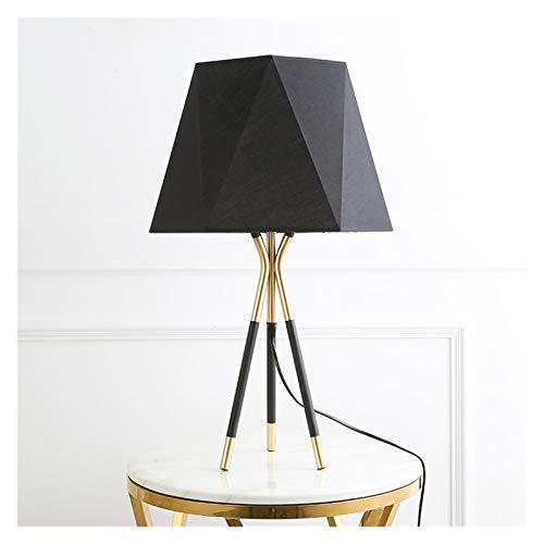 lampadaire Lámpara de pie de soporte de trípode LED moderna con pantalla for la sala de estar de la sala de estar de la sala de estar de la sala de loft de la sala de loft ligero de la decoración