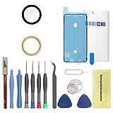 OKBICHI Lente de la cámara trasera de repuesto para iPhone 6 Plus y iPhone 6S Plus - Herramientas de reparación con protector de pantalla