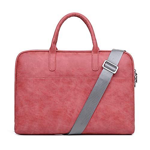 BSDK Laptop-boodschappentas, 13-15,6 inch PU-laptoptas voor vrouwen, klassieke laptoptas, werktassen voor vrouwen