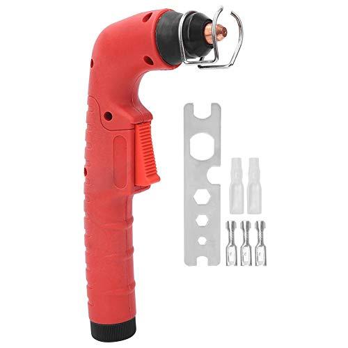 Plasmasnijder Toortskop Rode metalen rubberen handgreep voor Trafimet Ergocut S45 Snijden Plasmasnijder Fakkelmachine