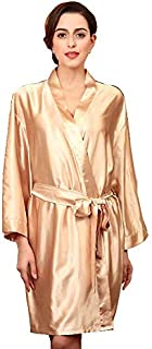 Champagne Robe For Women sleepwear free size