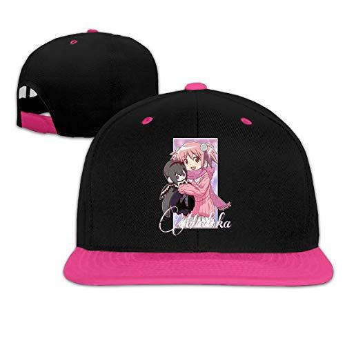 Anime Puella Magi Madoka Magica - Madoka Kaname Men Women Adjustable Baseball Cap Sandwich Cap