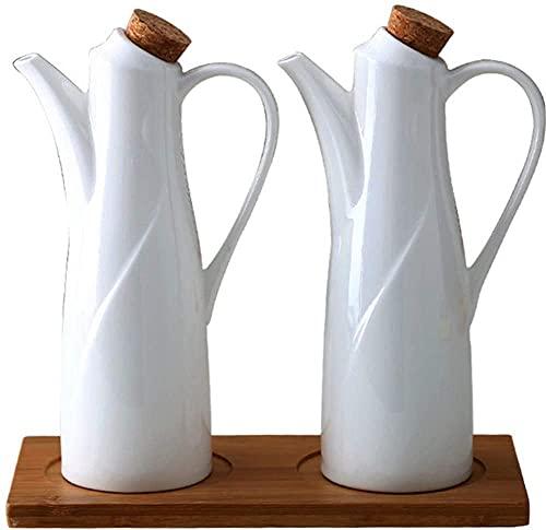 El aceite puede olivar o vinagre anti-fuga, Potes de aceite y vinagre de salsa de soja Jar Vinagre Olive Oil Gravy Barcos de salsa Dispensador de equipamiento Herramientas de almacenamiento de cocina,