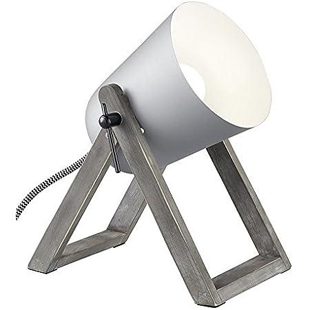 Reality Leuchten LED Tischleuchte Flexarm verchromt gr/ün R52411115 H/öhe circa 40 cm inklusive 4 W LED