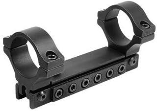 BKL 1-Pc Adjustable Scope Mount, 1 Rings, 3/8 Dovetail, Black