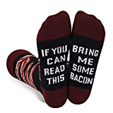 Funny Saying If You Can Read This Bring Me Bacon Socks-Funny Novelty Bacon Gift For Men Bacon Lover