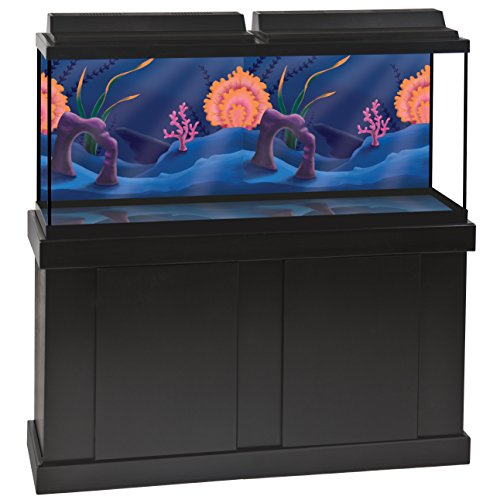 GloFish Fundo que muda de cor, 1 peça, para aquários de até 25 galões