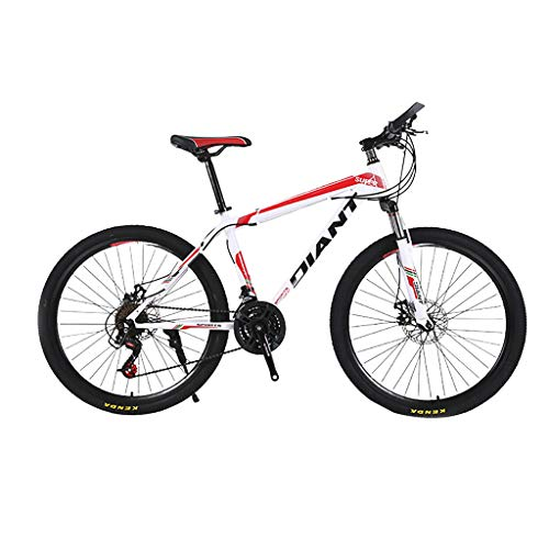 justHIGH Mountain Bike for Adults,MTB Bikes Racing Cycling Double Disc Brake Bicycles for Men/Women