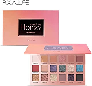 Focallure 18 Colors Eyeshadow Palette, 4, 111 gm