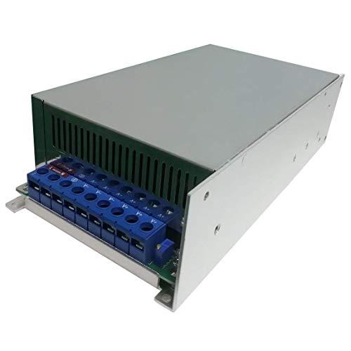 LFDHSF Gleichstromversorgung 48V 20A 1000W Schalter Netzteil Treiberanzeige Schaltnetzteil 48V für LED-Lichtleiste - Schwarz