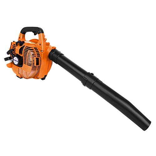 26CC Gas Powered Leaf Blower,2-Stroke Hand Held Leaf Blower,195 Mph Air Speed,Handheld Gasoline Cordless Leaf Blower for Yard Cleaning Lawn Care Snow Blowing (A)