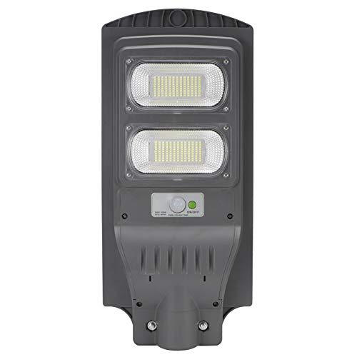 Luces solares al aire libre, 6500K-7000K 110W 234 Lámpara LED, Inalámbrico IP66 Luz de inundación solar impermeable, Sensor de movimiento de seguridad Luz al aire libre para terraza, cerca, patio, pue