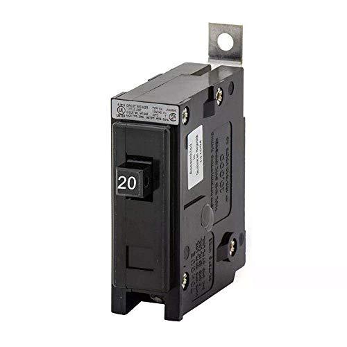 BAB1020 Westinghouse  (Eaton, Cutler Hammer) Qucklag 20 AMP, 1 pole bolt on circuit breaker