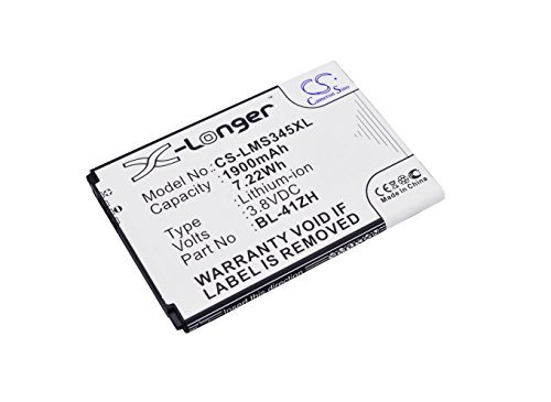 Battery Replacement for LG L22C Leon LTE H343 Destiny H345 L21G MS345 L33L Leon LS665 Risio Tribute 2 BL-41ZH C40 Power D213 D213N D290 D290N H320MB H324