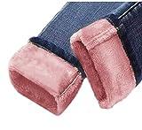 Azul Claro Vintage Espesor Terciopelo Skinny Jeans Mujeres Lápiz Pantalones