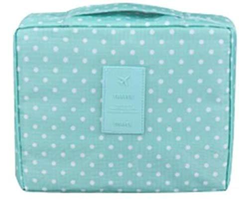 Huien Cosmetic Bag Organizer Waterproof Portable Makeup Bag Fashion Travel Women Necessity Beauty Case Wash Pouch, 21