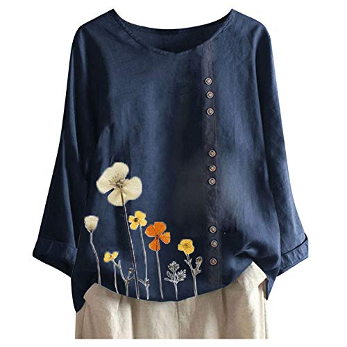 VEMOW Camiseta Mujer de Manga Corta Suelta T-Shirt Sudaderas Moda Motivo de...