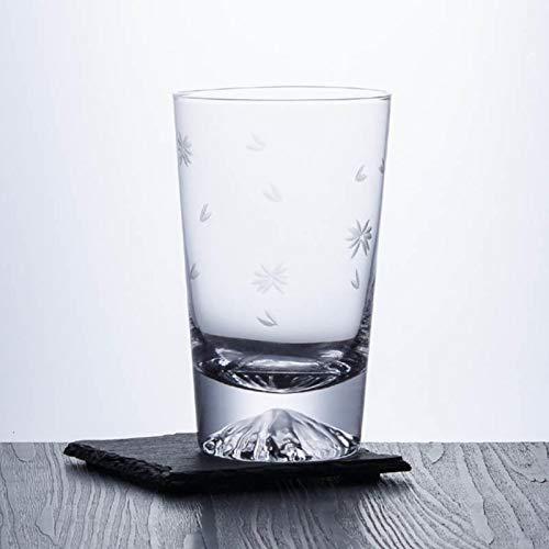 Vidrio Copa De Montaña De Nieve Whisky Cerveza Copa De Vino Bebida Fría Taza De Jugo De Fruta Taza De Té Oficial Vodka Brandy Bar Personalidad Copa De Vino