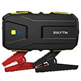 SOLVTIN S6 Jump Starter 1200A Car Starter for up to 7.5L Gas and 6.0L Diesel Engine 12V Battery Jump Starter with Smart Jumper Cables Portable Power Bank with PD18W Port, QC 3.0 and LED Light