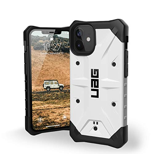 URBAN ARMOR GEAR UAG Designed for iPhone 12 Mini Case [5.4-inch Screen] Rugged Lightweight Slim Shockproof Pathfinder Protective Cover, White