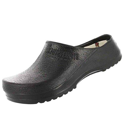 BIRKIS Super-Birki Clogs Alpro-Schaum, Black, Größe 41 mit normalem Fußbett