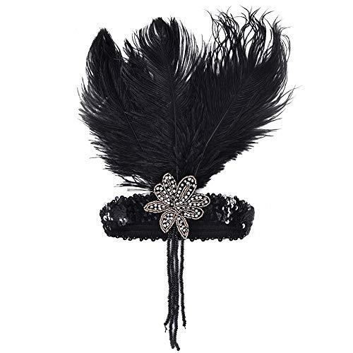 1920s Vintage Flapper Headband Big