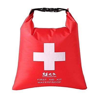 MagiDeal Waterproof Emergency First Aid Empty Bag Travel Dry Bag Camping Hiking Kayak