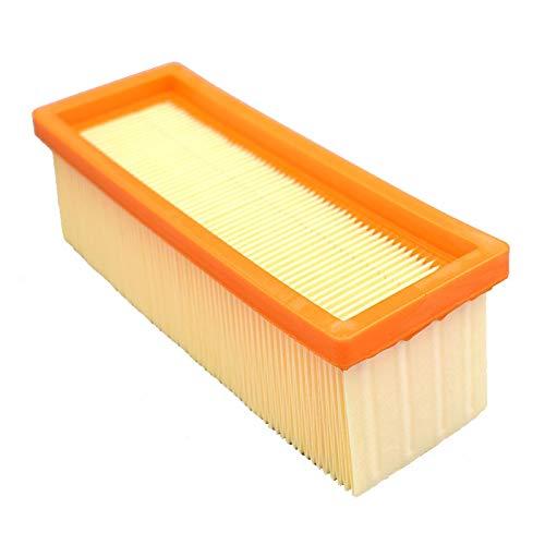 L-Yune, 1pcs Flachfaltenfilter Ersetzt for Karcher 6,414-498,0 SE 2001 SE 3001 SE 5.100 SE 6.100 K 2801 A 2801 Nass- und Trockensauger