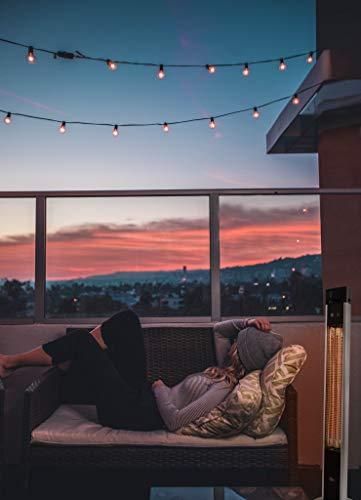 SUNTEC Carbon-Terrassenheizstrahler Heat Patio 2000 Carbon [Für Balkon/Terrasse/Garten 3 Bild 2*
