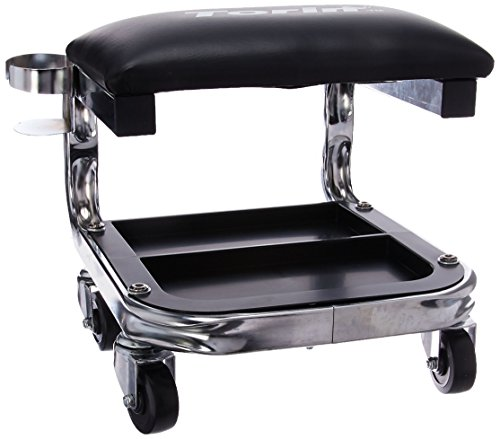 Torin TR6340 Creeper H.D. Shop Seat W.Cup Holder