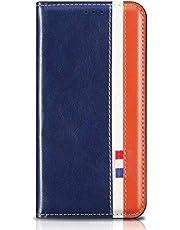 MOTOUREN Funda Huawei Honor 8X/Honor View 10 Lite Flip Case con Protector de Pantalla Antigolpes PU Cuero Cover Función de Soporte Billetera con Tapa Tarjetas Azul