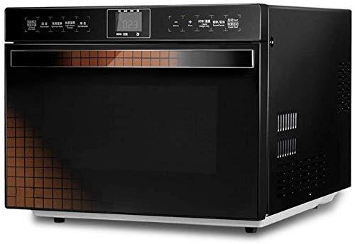 Rindasr Encimera de microondas, Horno de microondas Inteligente de la conversión de frecuencia del Acero Inoxidable de 25 litros de Capacidad 900W Velocidad Pantalla Power Functions térmica operación