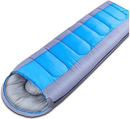 JSL Saco de dormir para adultos con protección contra el frío, 4 estaciones, de algodón, para interior y exterior, picnic, camping, viaje, senderismo, D