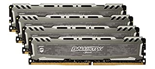 Ballistix Sport LT 64G DDR4,, BLS4C16G4D240FSB (B01B4F3MNQ) | Amazon price tracker / tracking, Amazon price history charts, Amazon price watches, Amazon price drop alerts