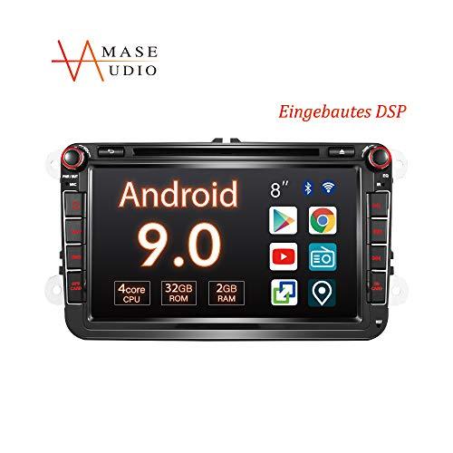 Amaseaudio Autoradio, 2 Din Auto Stereo Radio für VW, 8