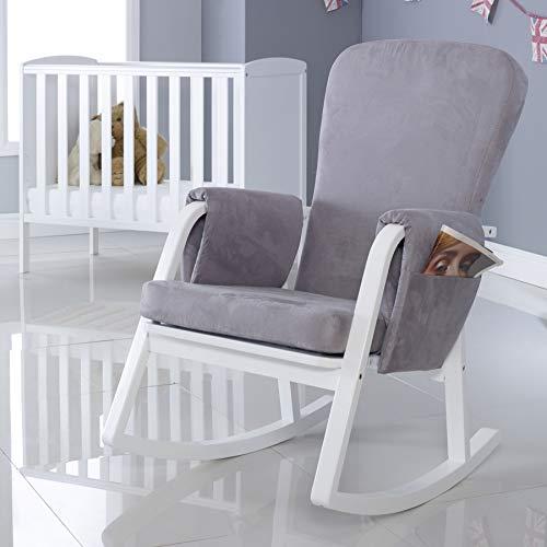Ickle Bubba Dursley Nursing Rocking Chair, Pearl Grey