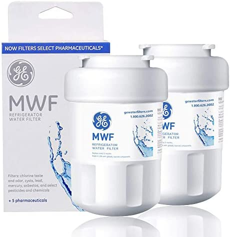 MWF Water Filter for GE Refrigerator 2packs Smart Water Filter Replacement Compatible with MWF product image