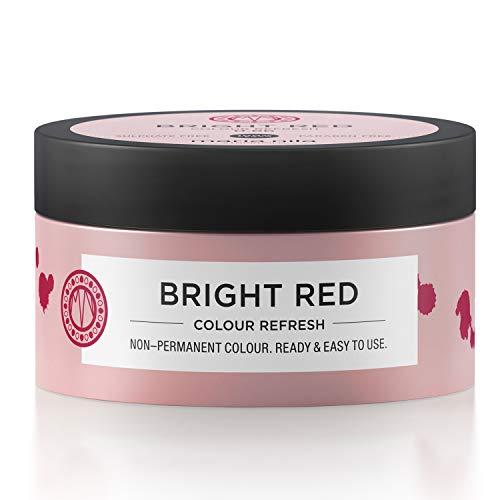 Maria Nila Colour Refresh - Bright Red 100ml | Eine revolutionäre Farbmaske zur Auffrischung und Intensivierung der Haarfarbe