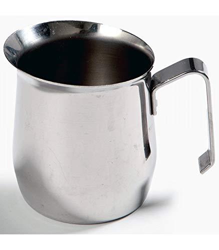 TradeShop - BRICCO BOLLILATTE LATTIERA caffè CARAFFA 500ML Acciaio Inox PENTOLINO BOLLITORE - 15330