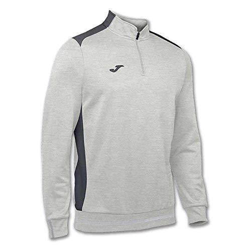 Joma Sweat-Shirt Campus II pour Homme, de XS Mélange Gris Clair - 250