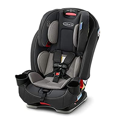 Graco Slimfit 3 in 1 Car Seat | Slim & Comfy Design Saves Space in Your Back Seat, Redmond, Amazon Exclusive from Graco Children's Products