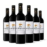 Cru la Maqueline - AOP Bordeaux - Vin Rouge - Millésime 2018 - Terra Vitis - Lot de 6 bouteilles x 75 cl