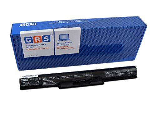 GRS Batterie pour Sony VAIO Fit 14E, 15E Serie, remplacé: VGP-BPS35A, VGP-BPS35B, VGP-BPL35, VGP-BPS35, Laptop Batterie 2200mAh/33Wh,14,8V