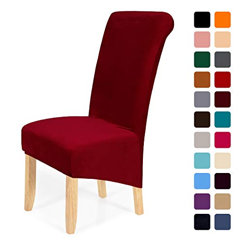 (50% OFF Coupon) Set of 6 Dining Chair Covers Multiple Colors Available $28.50