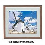 ナカバヤシ 木製写真額縁(丸型) キャビネ判 フ-SW-150