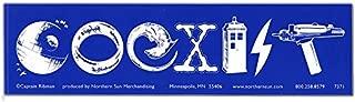 Peacemonger Sci-fi Coexist Large Bumper Sticker Science Fiction