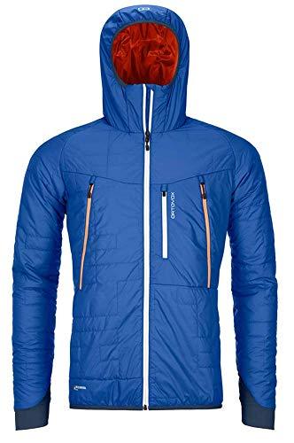 ORTOVOX Mens Swisswool Piz Boè Jacke, Just Blue, L