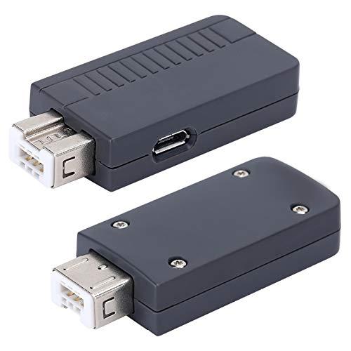 Socobeta Receptor Transmisor Bluetooth Inalámbrico Fuerte Resistente Sin Retraso Confiable Potente para Controladores de Juegos